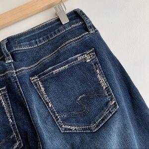 Silver Jeans Mid-Rise Suki Slim Bootcut Jeans, 29
